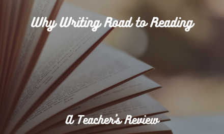 Why I Use the Spalding Method for Teaching Literacy
